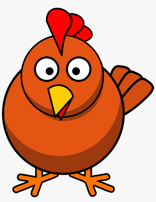 small resolution of french fries clipart chicken chicken cartoon transparent background