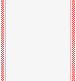 red candy cane stripe border free thin red christmas border [ 820 x 1188 Pixel ]
