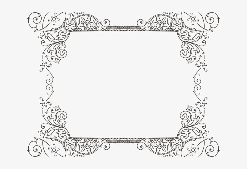 fancy wedding border png transparent