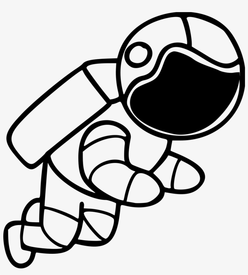 Free Download Astronaut Outer Space Line Art Suit Free