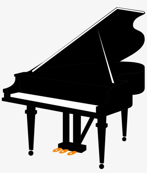 small resolution of grand piano clipart free black and white cliparts and piano free clip art