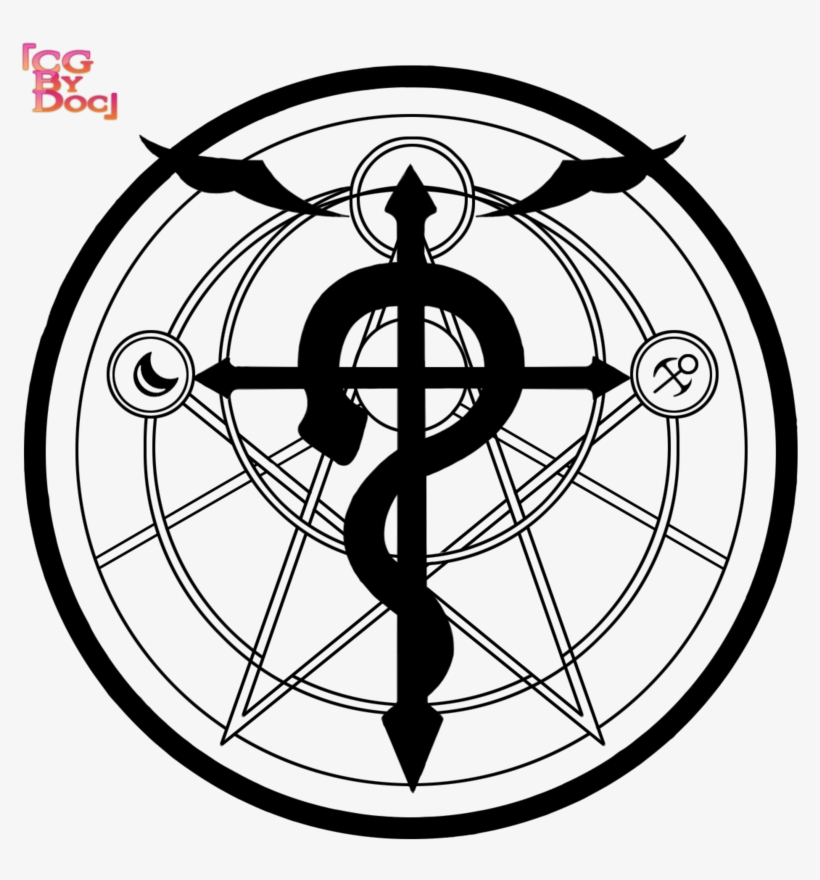 Fullmetal Alchemist Transmutation Circle Tattoo