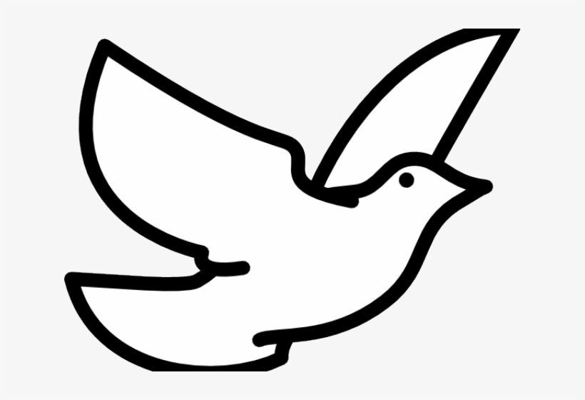 Dove Clipart Drawing Clipart Flying Bird Drawing Transparent Png 640x480 Free Download On Nicepng
