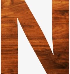 big image wood letter clipart n [ 820 x 1029 Pixel ]
