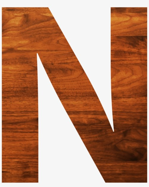 small resolution of big image wood letter clipart n