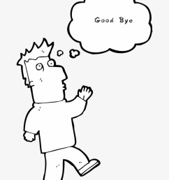 drawing illustrations good bye clipart free stock drawing [ 820 x 1053 Pixel ]