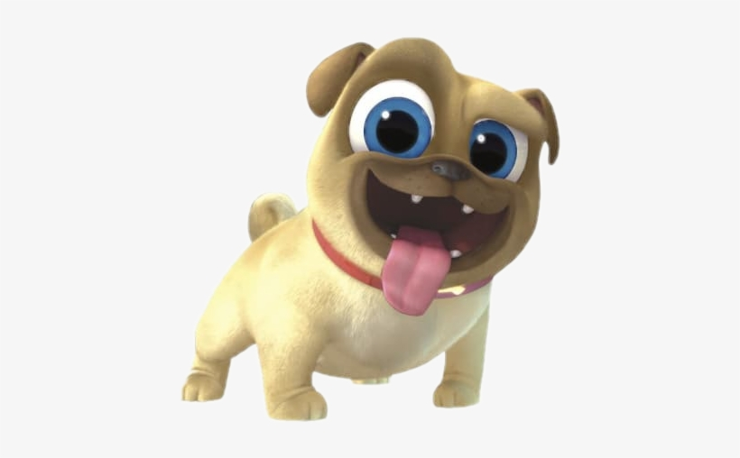 Rolly Disney Puppy Dog Pals Cinestory Comic By Disney Transparent Png 422x428 Free Download On Nicepng