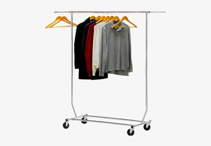 commercial grade clothing garment rack