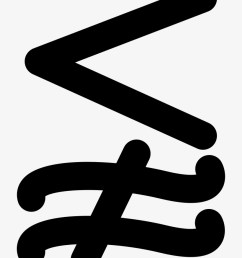 less and not approximately equal mathematical symbol aproximadamente simbolo [ 820 x 1061 Pixel ]