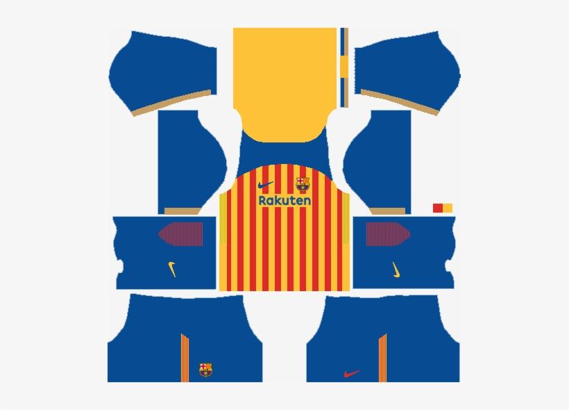 fc barcelona senyera kit