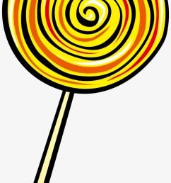 lollipop euclidean vector clip art yellow lollipop clipart [ 820 x 1566 Pixel ]
