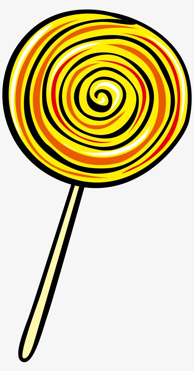 medium resolution of lollipop euclidean vector clip art yellow lollipop clipart