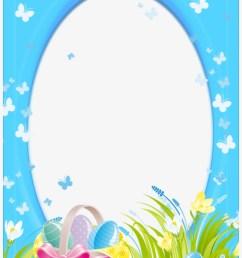 easter frame png clipart easter bunny clip art easter frame png [ 820 x 1188 Pixel ]
