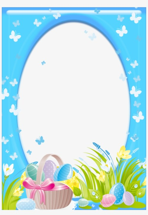 small resolution of easter frame png clipart easter bunny clip art easter frame png