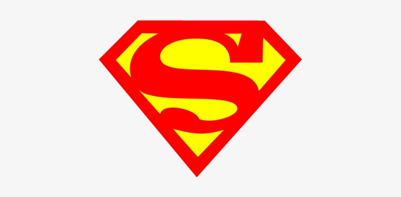black superman logo supergirl