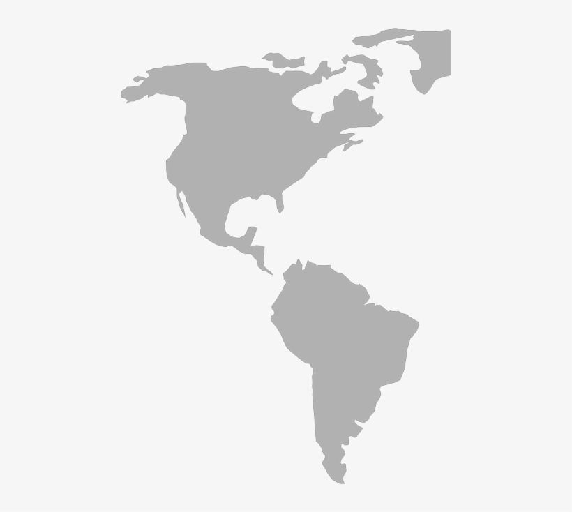 colombia american continent map