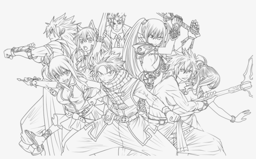 Fairy Tail Coloring Pages Wonderful Chibi Erza Natsu