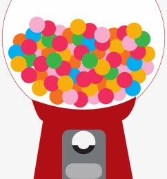 candy clipart printable gumball machine clip art png [ 820 x 1478 Pixel ]