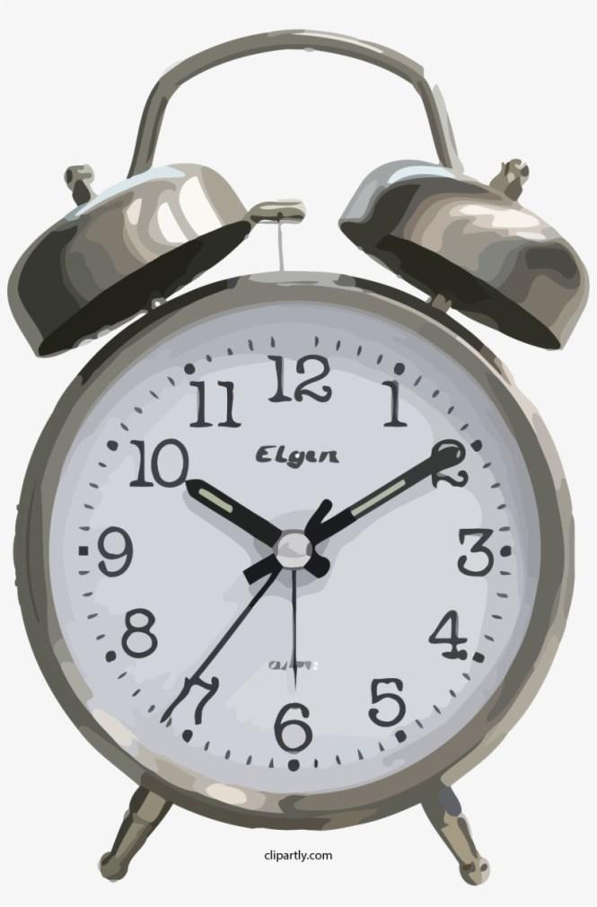 Elgen Old Clock Clipart Png Blue