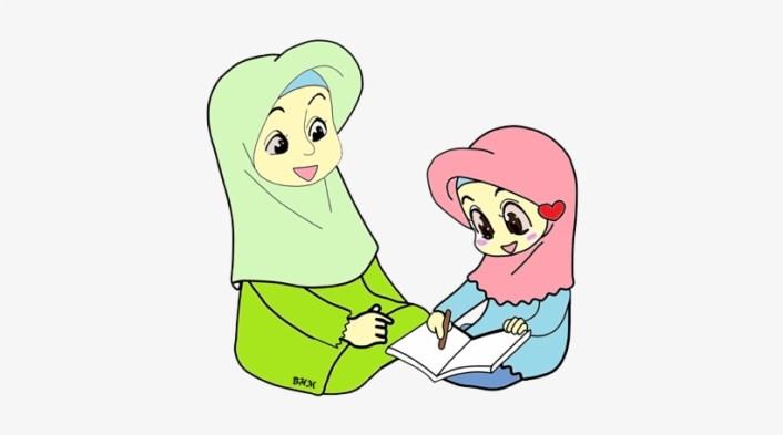 Gambar Kartun Anak Dan Ibu Pendidik Anak