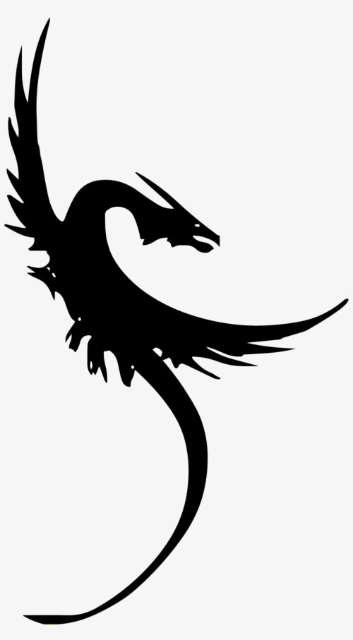 small resolution of clipart dragon symbol transparent background