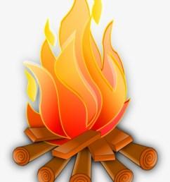 campfire vector png transparent image fire clipart [ 820 x 1119 Pixel ]