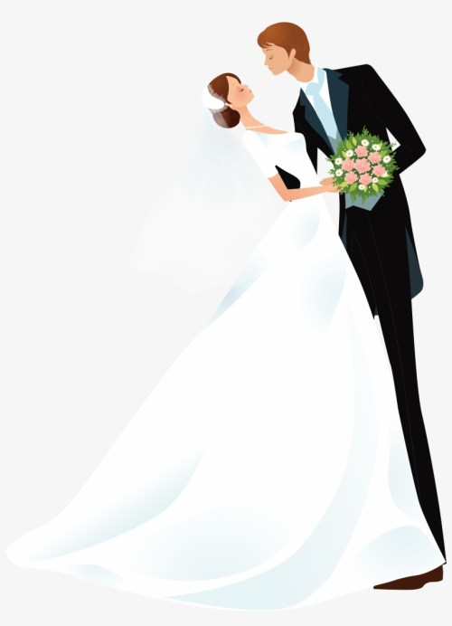 small resolution of bride and groom images cartoon wedding