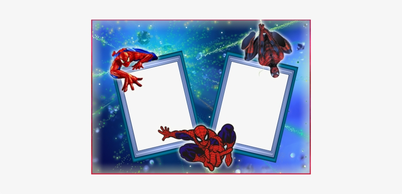 spiderman clipart photo frame
