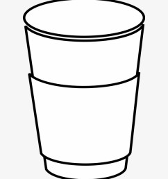 coffee clipart silhouette png paper cup clip art [ 820 x 980 Pixel ]
