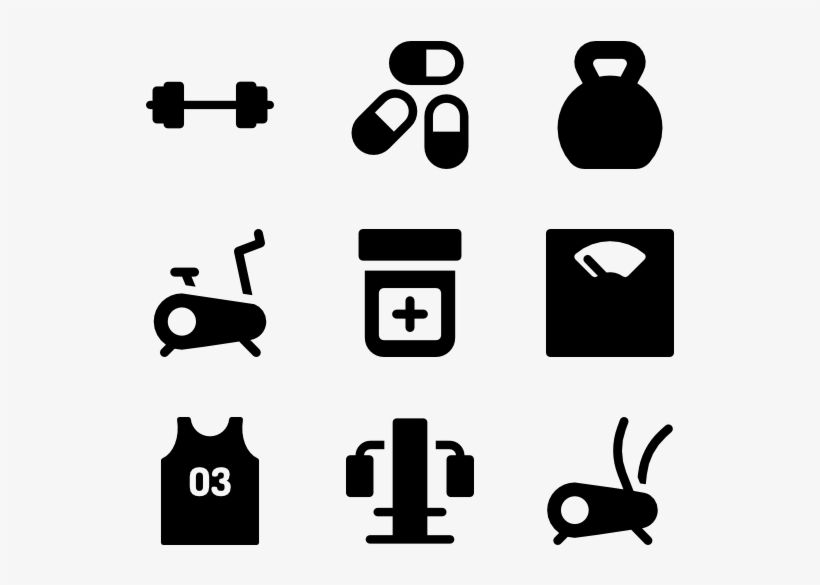 Fitness Vector Png Gym Equipments Vector Png Transparent Png 600x564 Free Download On Nicepng