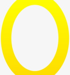 letter clipart yellow letter o free clip art [ 820 x 1112 Pixel ]