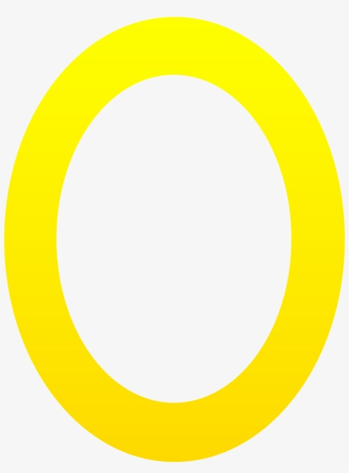 small resolution of letter clipart yellow letter o free clip art