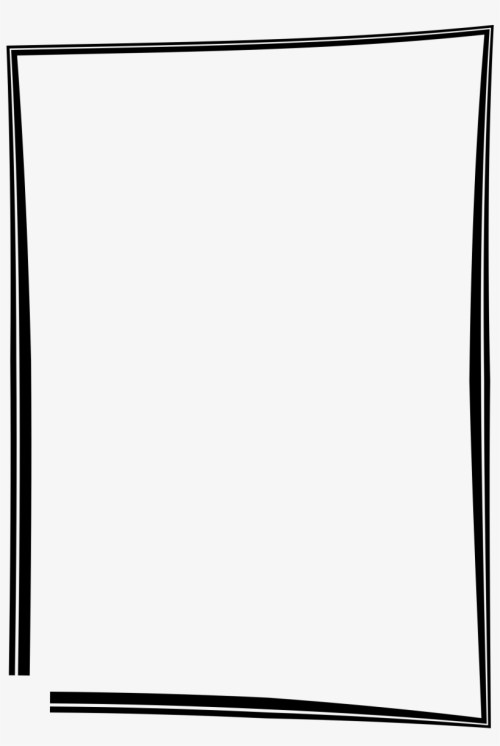 small resolution of simple frame border design black picture frame clipart