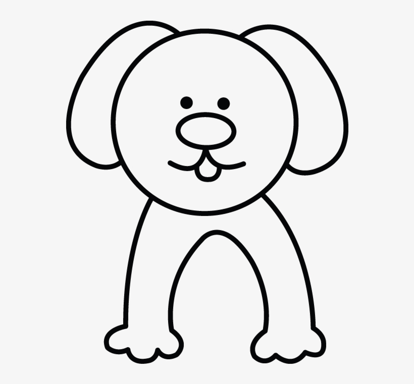How To Draw A Dog Easy Step By Step Drawing Tutorial Easy Dog Drawing Transparent Png 720x1280 Free Download On Nicepng