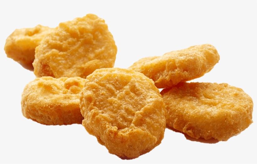 Transparent Chicken Nugget