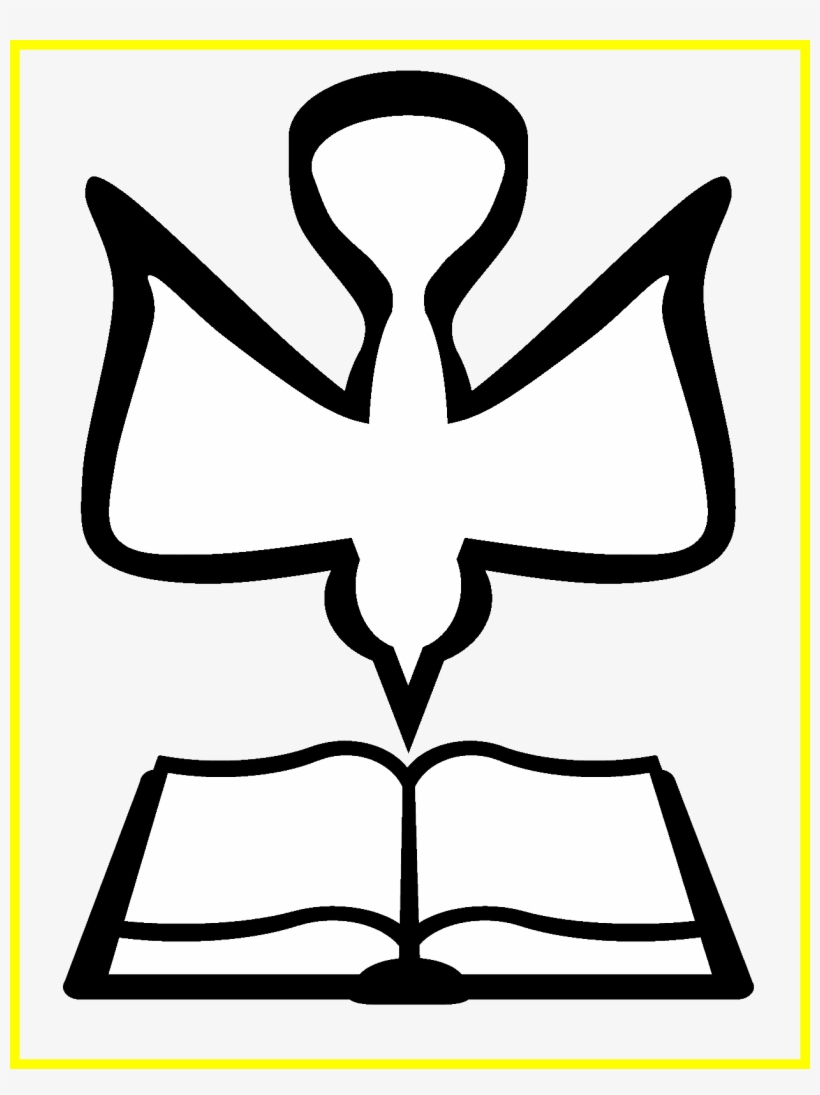 hight resolution of dove clipart church holy spirit vector png