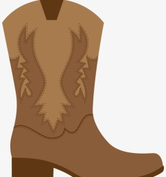 cowgirl birthday cowgirl party cowboy theme western brown cowboy boot clipart [ 820 x 1014 Pixel ]