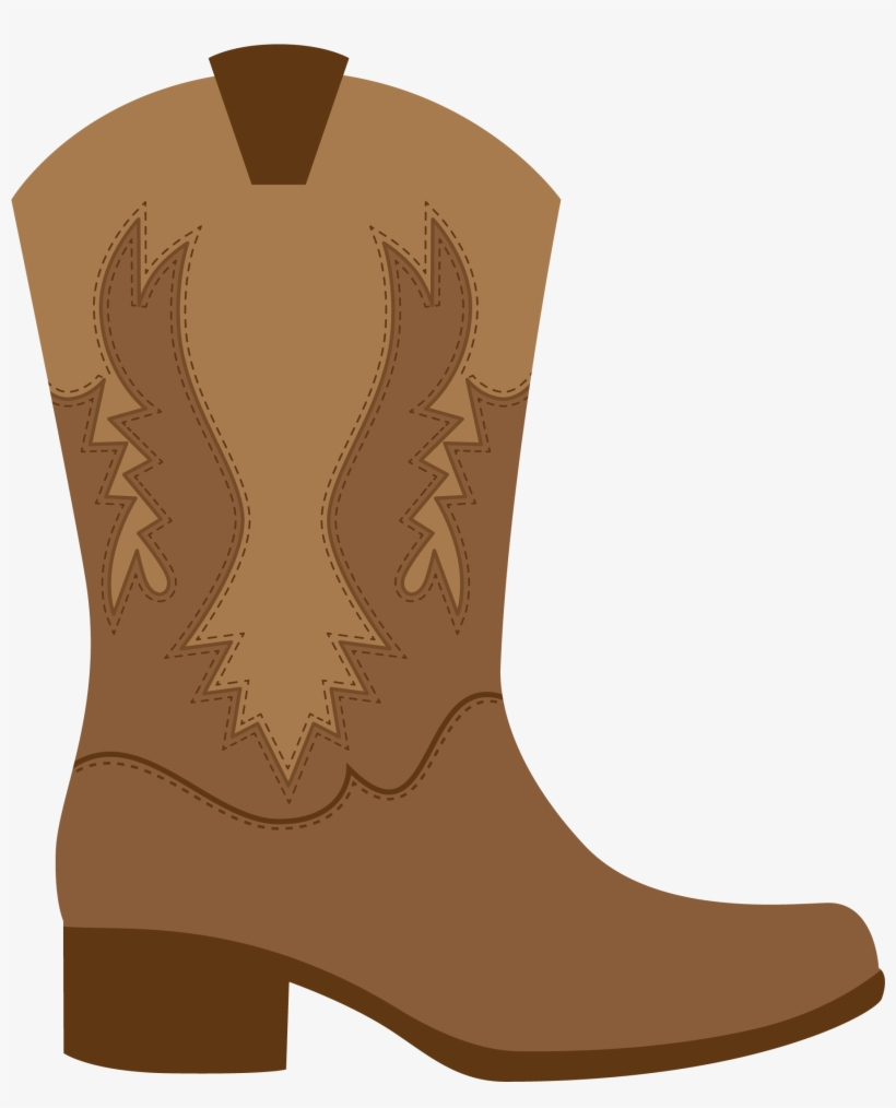 hight resolution of cowgirl birthday cowgirl party cowboy theme western brown cowboy boot clipart