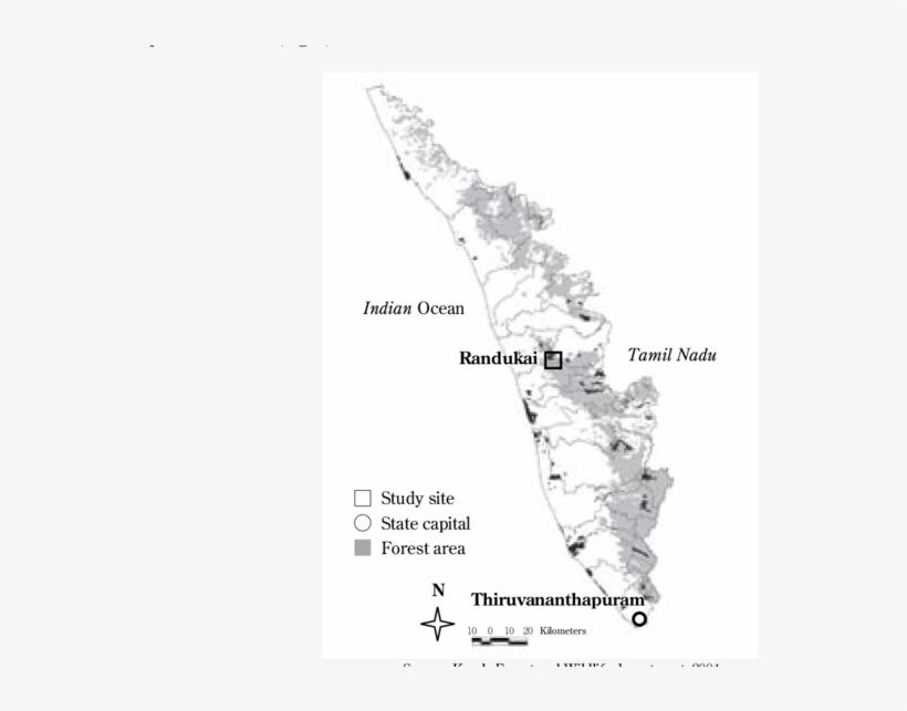 Kerala Map In Detail / Jungle Maps Map Of Kerala In
