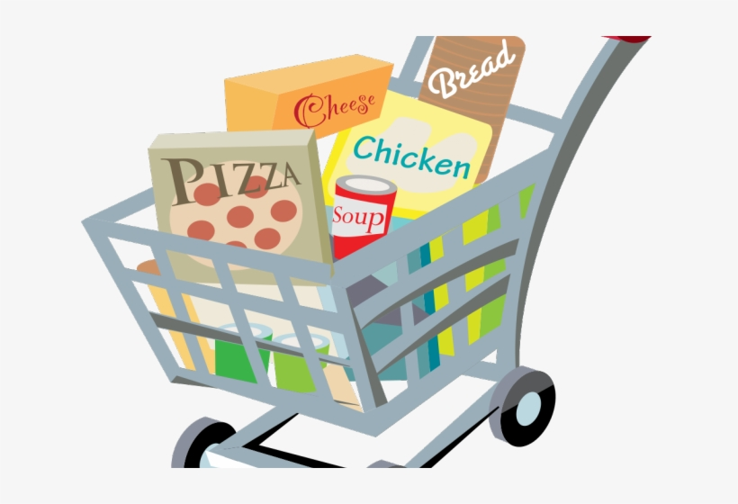 Trolley Clipart Grocery Store Transparent Background Grocery Cart Clipart Transparent Png 640x480 Free Download On Nicepng