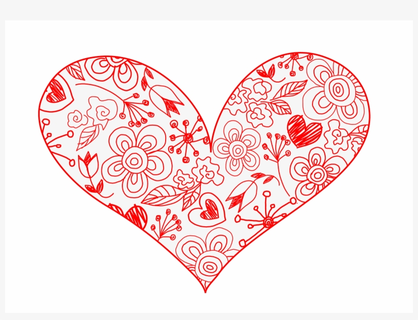 I Love You Hearts And Roses Drawings Heart Clipart Vintage Transparent Png 1600x1149 Free Download On Nicepng