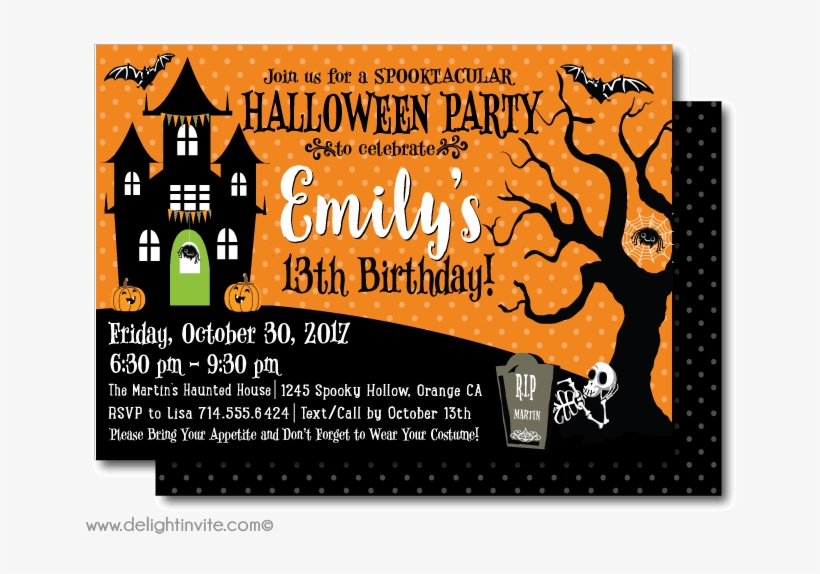If this describes you, you. Party Invitations Mesmerizing Halloween Party Invite Halloween Birthday Party Invite Transparent Png 656x530 Free Download On Nicepng