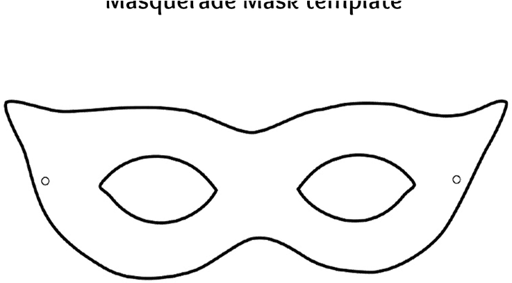 download hd mask template