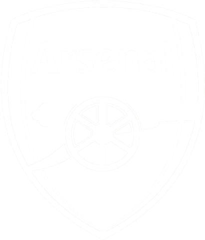 arsenal logo png white