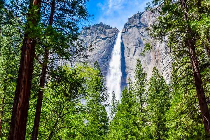 Yosemite National Park Camping yosemite falls 1