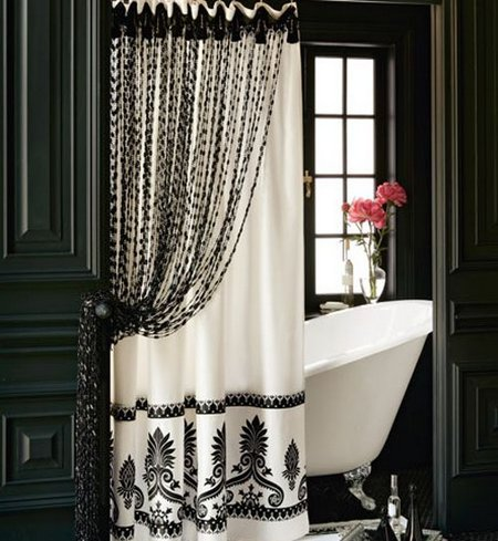 Would You Like An Elegant Shower Curtain  wwwnicespaceme