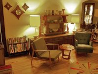 Living Rooms In Retro Style