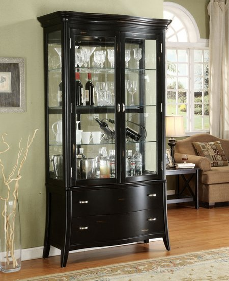 Curio Cabinets For Holding Your Curio Items  wwwnicespaceme