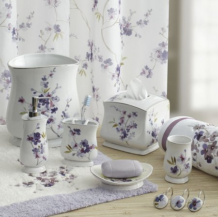 Lavender Themed Bathroom Accessories Www Nicespace Me