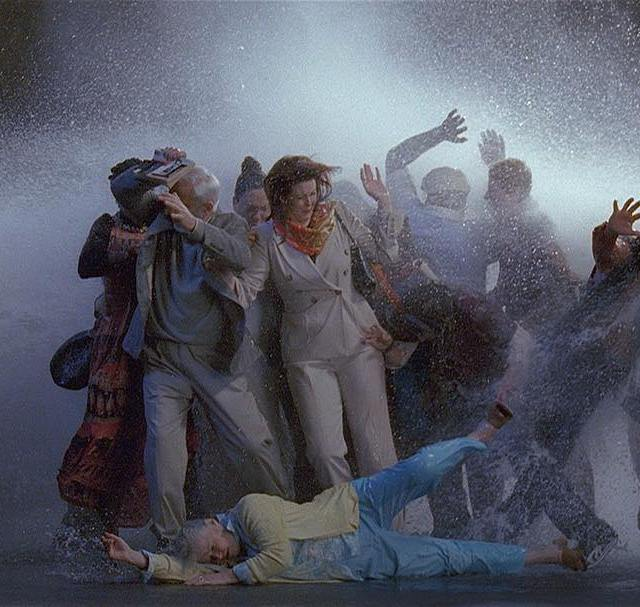 Bill Viola Tempest Study for the Raft 2005 Color HDhellip